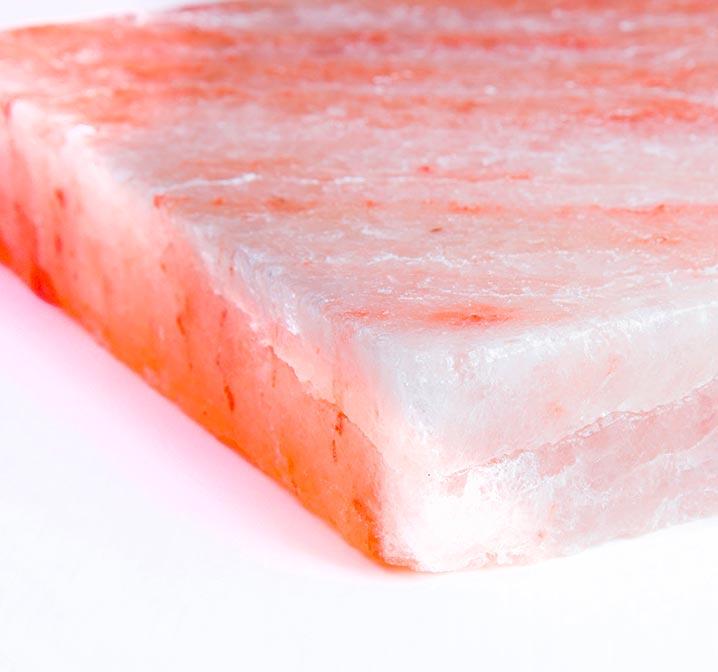 Piastra di sale rosa dell'Himalaya