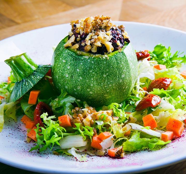 Zucchine bombetta vegetariane