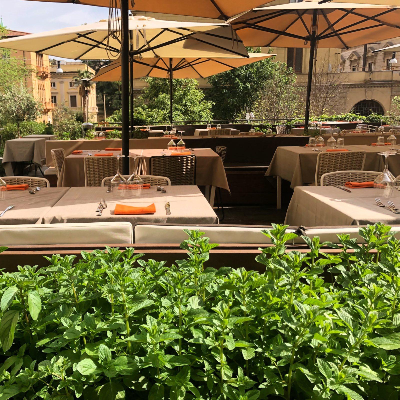 Terrazza Fiore Fiore Ristorante Di Cucina Flexiteriana A Roma